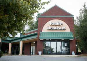 picture of the exterior of Carolina Center for Comprehensive Dentistry