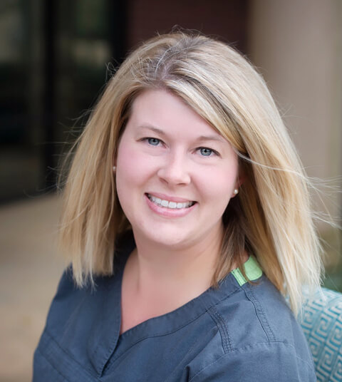 Photo of Sarah Cox, Dental Assistant at the Carolina Center for Comprehensive Dentistry.