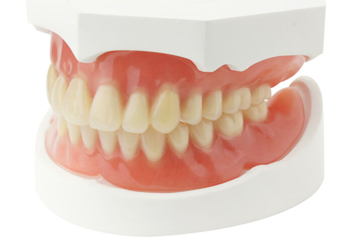 image showing a full set of dentures - Dr. Jeff Lineberry
